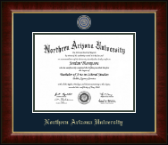 Northern Arizona University Diploma Frame - Masterpiece Medallion Diploma Frame in Murano
