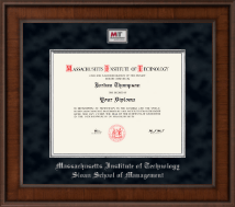 Massachusetts Institute of Technology Diploma Frame - Presidential Masterpiece Diploma Frame in Madison