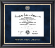 Northern Arizona University Diploma Frame - Regal Edition Diploma Frame in Noir