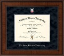 Northern Illinois University Diploma Frame - Presidential Masterpiece Diploma Frame in Madison