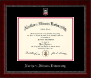Northern Illinois University Diploma Frame - Masterpiece Medallion Diploma Frame in Sutton