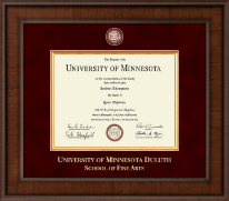 University of Minnesota Duluth Diploma Frame - Presidential Masterpiece Diploma Frame in Madison