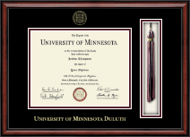 University of Minnesota Duluth Diploma Frame - Tassel Edition Diploma Frame in Southport