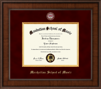 Manhattan School of Music Diploma Frame - Presidential Masterpiece Diploma Frame in Madison