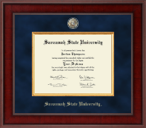 Savannah State University Diploma Frame - Presidential Masterpiece Diploma Frame in Jefferson