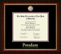 State University of New York at Potsdam Diploma Frame - Masterpiece Medallion Diploma Frame in Murano