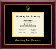 Grambling State University Diploma Frame - Gold Embossed Diploma Frame in Gallery