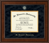 St. Edward's University Diploma Frame - Presidential Masterpiece Diploma Frame in Madison