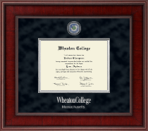 Wheaton College in Massachusetts Diploma Frame - Presidential Masterpiece Diploma Frame in Jefferson