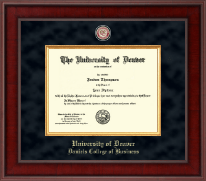 University of Denver Diploma Frame - Presidential Masterpiece Diploma Frame in Jefferson