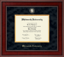 Whitworth University Diploma Frame - Presidential Masterpiece Diploma Frame in Jefferson