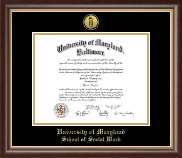University Of Maryland Baltimore Diploma Frames For