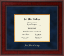 Air War College Diploma Frame - Presidential Edition Diploma Frame in Jefferson