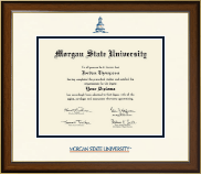 Morgan State University Diploma Frame - Dimensions Diploma Frame in Westwood