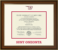 State University of New York - College at Oneonta Diploma Frame - Dimensions Diploma Frame in Westwood