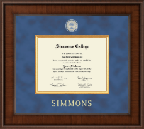 Simmons College Diploma Frame - Presidential Masterpiece Diploma Frame in Madison