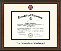 The University of Mississippi Diploma Frame - Dimensions Diploma Frame in Austin