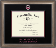 University of Puget Sound Diploma Frame - Dimensions Diploma Frame in Easton