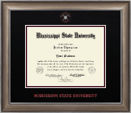 Mississippi State University Diploma Frame - Dimensions Diploma Frame in Easton