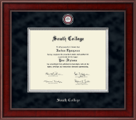 South College Diploma Frame - Presidential Masterpiece Diploma Frame in Jefferson