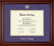 Elmira College Diploma Frame - Gold Embossed Diploma Frame in Cambridge