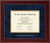 Air Force Institute of Technology Diploma Frame - Presidential Edition Diploma Frame in Jefferson