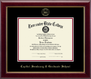 Lancaster Bible College Diploma Frame - Gold Embossed Diploma Frame in Gallery