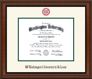 Washington University in St. Louis Diploma Frame - Dimensions Diploma Frame in Austin