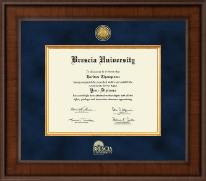 Brescia University Diploma Frame - Presidential Masterpiece Diploma Frame in Madison