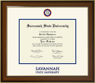 Savannah State University Diploma Frame - Dimensions Diploma Frame in Westwood