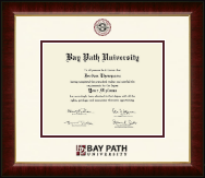 Bay Path University Diploma Frame - Dimensions Diploma Frame in Murano