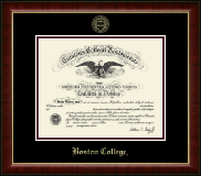 Boston College Diploma Frame - Gold Embossed Diploma Frame in Murano
