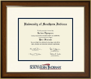 University of Southern Indiana Diploma Frame - Dimensions Diploma Frame in Westwood