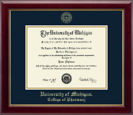 University of Michigan Diploma Frame - Gold Embossed Diploma Frame in Gallery