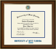 University of West Florida Diploma Frame - Dimensions Diploma Frame in Westwood