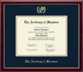 The Academy @ Shawnee in Kentucky Diploma Frame - Gold Embossed Diploma Frame in Galleria