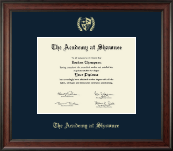 The Academy @ Shawnee in Kentucky Diploma Frame - Gold Embossed Diploma Frame in Studio
