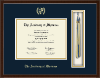 The Academy @ Shawnee in Kentucky Diploma Frame - Tassel Edition Diploma Frame in Delta
