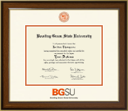 Bowling Green State University Diploma Frame - Dimensions Diploma Frame in Westwood