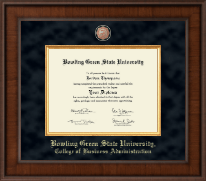 Bowling Green State University Diploma Frame - Presidential Masterpiece Diploma Frame in Madison