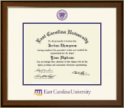 East Carolina University Diploma Frame - Dimensions Diploma Frame in Westwood