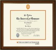 The University of Tennessee Martin Diploma Frame - Dimensions Diploma Frame in Westwood
