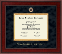 Texas Southern University Diploma Frame - Presidential Masterpiece Diploma Frame in Jefferson