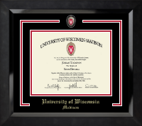 Spirit Shield Curriculum Edition Diploma Frame in Eclipse