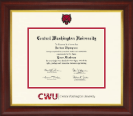 Central Washington University Diploma Frame - Dimensions Diploma Frame in Redding