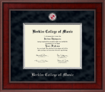 Berklee College of Music Diploma Frame - Presidential Masterpiece Diploma Frame in Jefferson