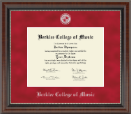 Berklee College of Music Diploma Frame - Regal Edition Diploma Frame in Chateau