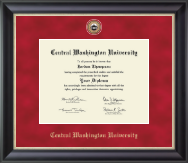 Central Washington University Diploma Frame - Regal Edition Diploma Frame in Midnight
