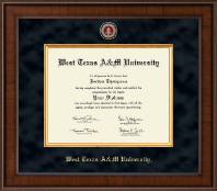 West Texas A&M University Diploma Frame - Presidential Masterpiece Diploma Frame in Madison