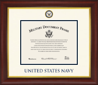 United States Navy Certificate Frame - Dimensions Certificate Frame in Redding
